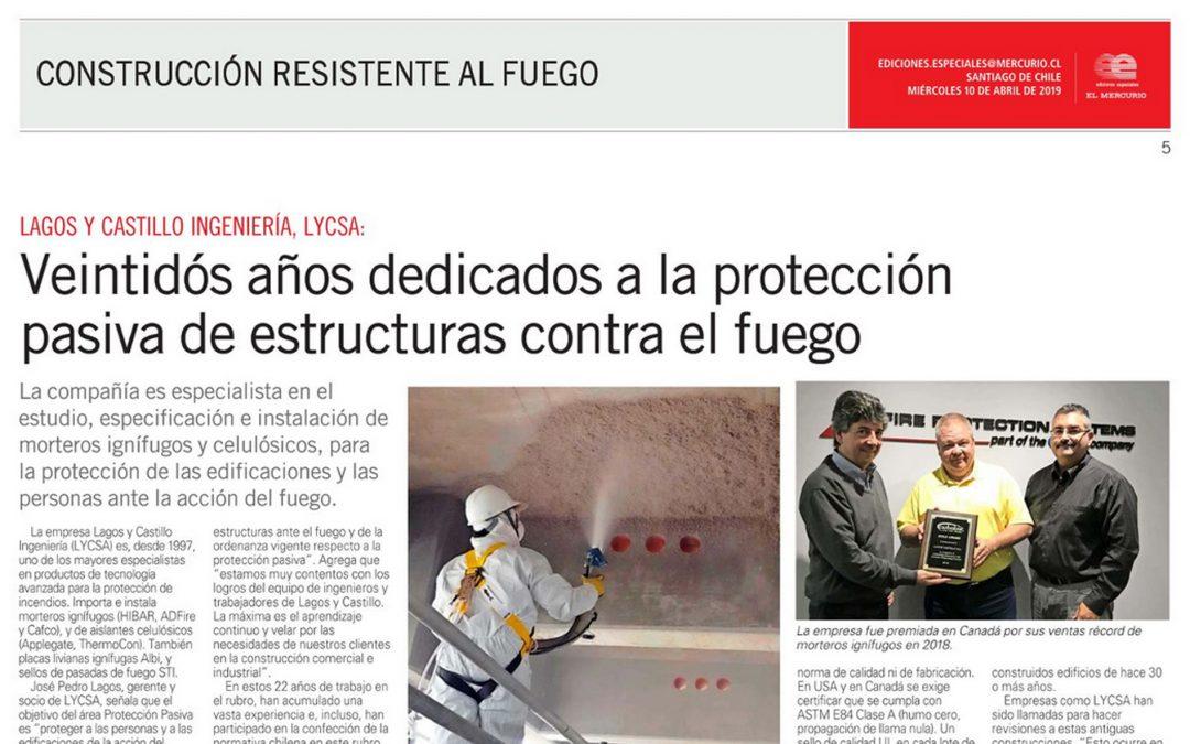 Veintidós años dedicados a la protección pasiva de estructuras contra el fuego